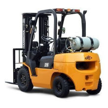 1.5t Seatable Counterbalance Nissan Engine Powered Forklift Truck 500mm Load Center