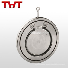 Sola aleta del HDPE de la oblea del acero inoxidable Válvula de control de la integridad de 12 pulgadas de alto