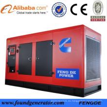 2015 Precio de fábrica del generador diesel a prueba de ruidos 150KW con CCS BV aprobado