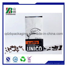 Quad-Sealed Plastic Packaging Bags for Coffee