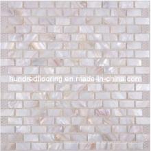 Mosaico de Shell Mosaico de la teja de la perla (HMP70)