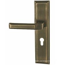 Manijas de las puertas de aleación de zinc para la decoración del hogar