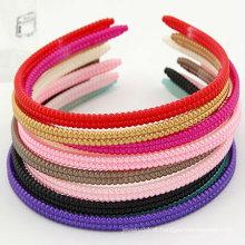 Barato Resina Hairbands com cores misturadas Hair Clip Hair Acessórios HB21
