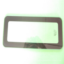 Черная шелкографическая печать закаленное стекло, стеклянные полки для оптовиков