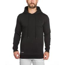 Langärmliges Fleece-Sweatshirt mit Kapuze für Herren