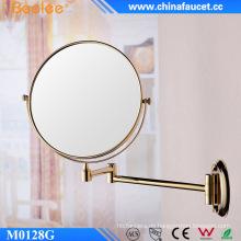 Flexibler flexibler Wandspiegel aus Messing in zwei Richtungen