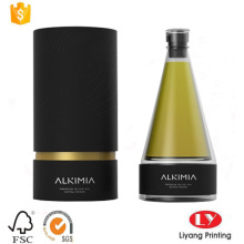 Round paper tube perfume packaging gift box
