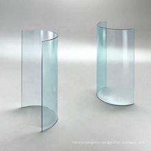 5mm 6mm 8mm 10mm 12mm 15mm 19mm Hot Bent Curved Glass Clear Bending Laminated glass  for furniture