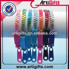 Оптовая красочные пластиковые цепи браслет