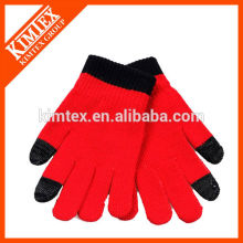 Mode strickte Acryl Texting Handschuhe