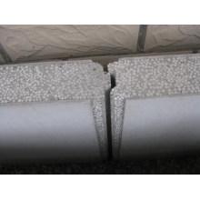 Linha de produção de painel de parede leve em sanduíche EPS