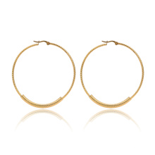 Alibaba Wholesale Fancy Earring For Party Girls Gold Hoop Earring