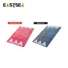 Schwarzes oder rotes 1800 mm breites Straßensicherheits-Gummikissen