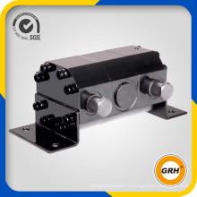 Détecteur de flux de moteur à engrenage hydraulique synchrone à précision à haut débit