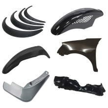 moulding supplier OEM auto body parts car mudguard mould plastic injection molding service for BMW