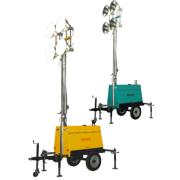 Tour d'éclairage mobile 9KVA