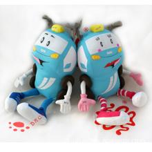 Stuffed Toy Cartoon Car Doll