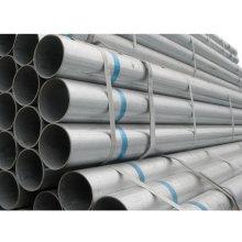 Tensile Strength Galvanized Gi Erw Round Steel Pipe
