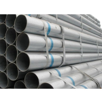 인장 강도 Galvanised Gi Erw Round Steel Pipe