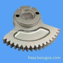 Small Custom Precision Motorcycle Transmission Aluminum Gear with Spur Tooth, OEM Orders Welcomed