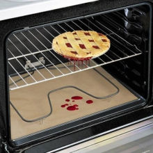 Non-stick/Reusable Microwave Oven Mat---PTFE (PFOA FREE ), Food Safety
