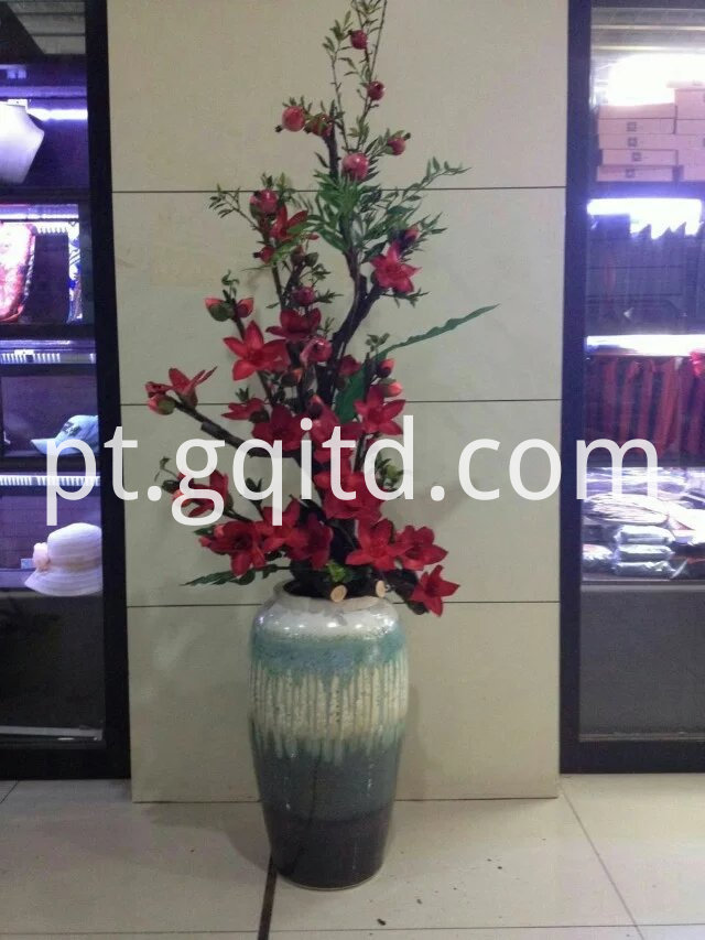 red artificial flower-1