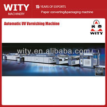 Máquina de barnizado UV (Barniz UV de papel)