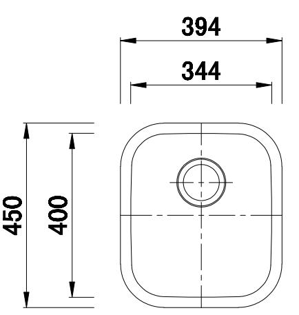 LA50 Line Drawing