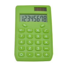 Dual Power Simple Design Pocket Calculator
