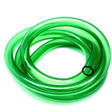 Mangueira flexível plástica verde do PVC de 12mm para a lagoa do aquário