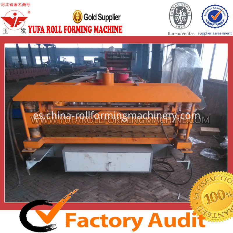 C10 Russia Design wall panel roll forming machine