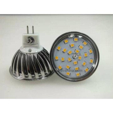 Nouveau projecteur de MR16 5W 5W 120degree 450lm 2835 SMD LED
