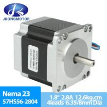 57HS56 Electric Stepper Motor NEMA 23 Hybrid Step Motor 1.8 Degree High Torque Motor Length 76mm