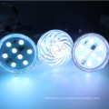 24v 18leds ip65 luz iluminada de 360 grados de la diversión luz llevada del pixel 5050rgb