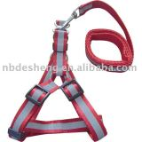 red pet leash for big dog