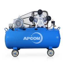 Low Noise APCOM 5.5 KW 7.5hp aircompressor Wholesale 5.5kw 7.5hp 3-cylinder air compressor 500 liter for painting cars