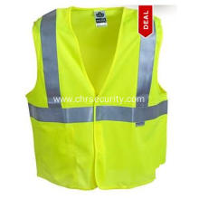 Ergodyne Class 2 Lime Solid Fabric Vest