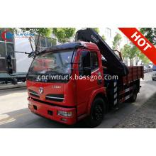 2019 New DFAC 5T XCMG Articulated Crane Truck