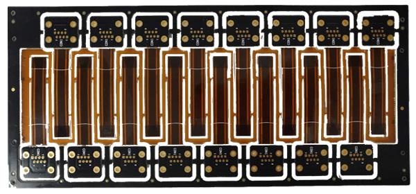 3-layer Rigid-flex PCB