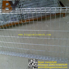 Galvanized Yard Fence Double Loop Wire Fence