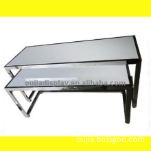 shoes exhibit table/commercial display desk/fashion store hardware