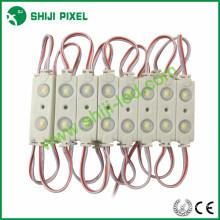 45 * 16 * 6mm 2leds 5050 RVB LED avec lentille rétro-éclairage lettre signes module IP66 étanche DC12V 0.48W