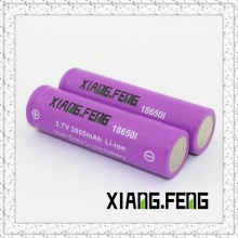3.7V Xiangfeng 18650 3000mAh Icr Rechargeable Lithium Battery Battery Companies