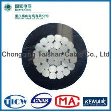 ¡Fuente profesional de la fábrica !! Cable eléctrico plano de alta pureza / cable aéreo