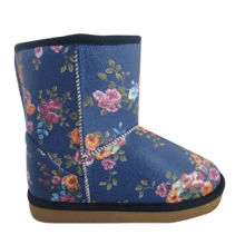 Women's Snow Boots with Micro-suede Fabric Upper, Flexible, Comfortable, Abrasion-resistant
