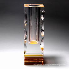 Jarrón de flores, decoración de cristal (JD-HP-011)