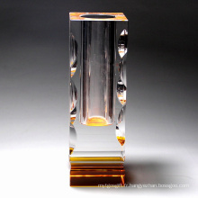 Vase à fleurs, décoration en cristal (JD-HP-011)