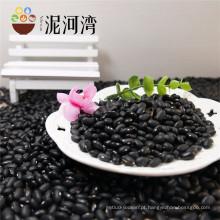 Bem selecionado pequeno feijão preto com cor polida