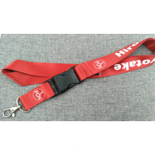 Custom Polyester Nylon Screen Printed Lanyards