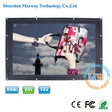 1920x1080 Open frame TFT 24 inch LCD monitor with HDMI, DVI, VGA input